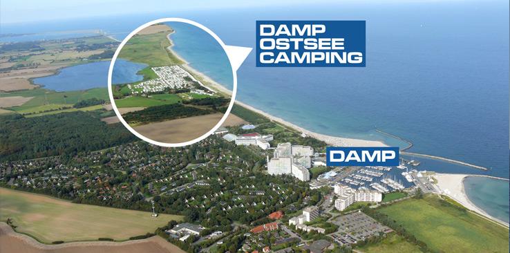 Damp Ostseecamping Lageplan